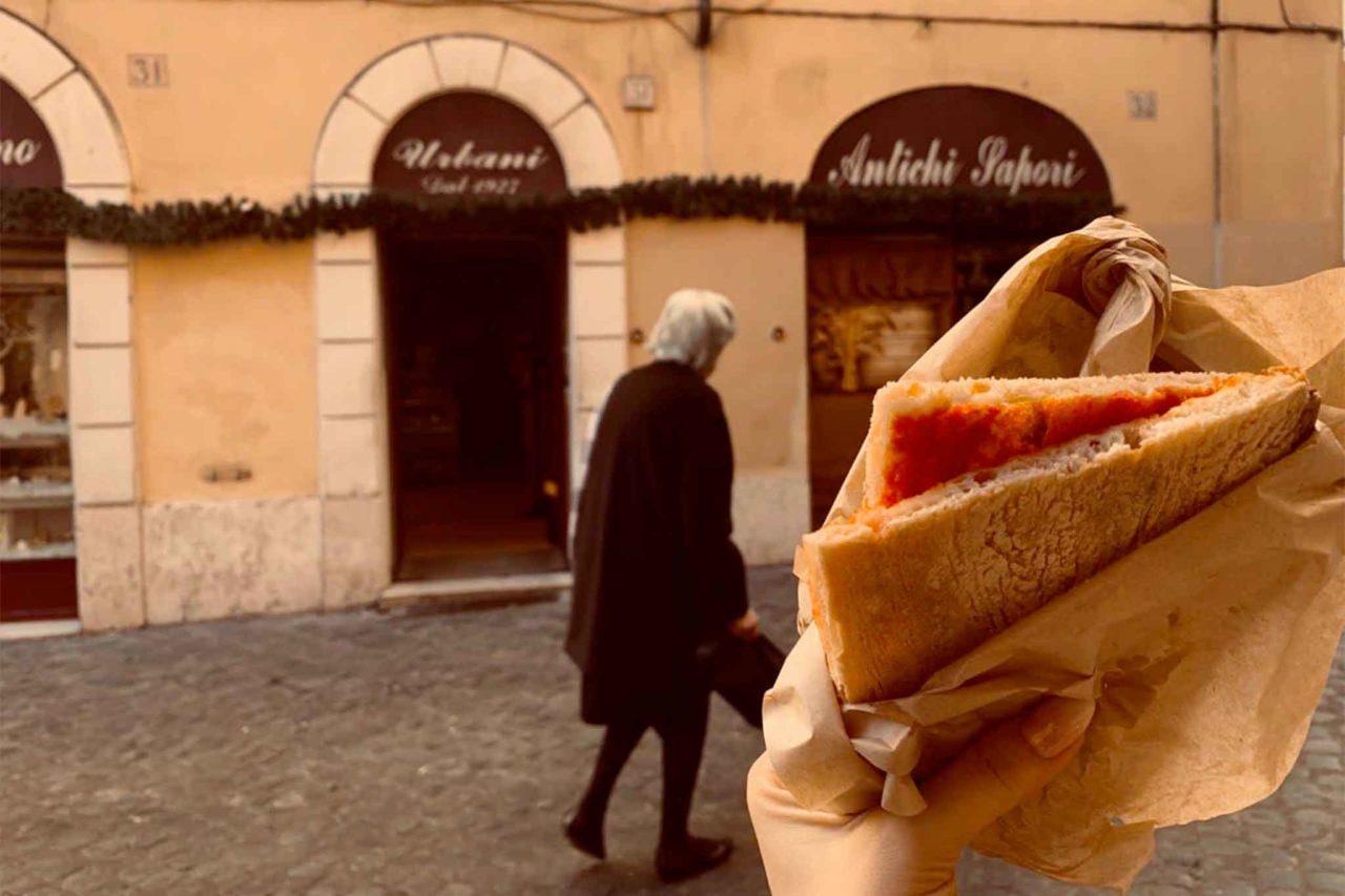 voglia di pizza a Roma antico forno del ghetto