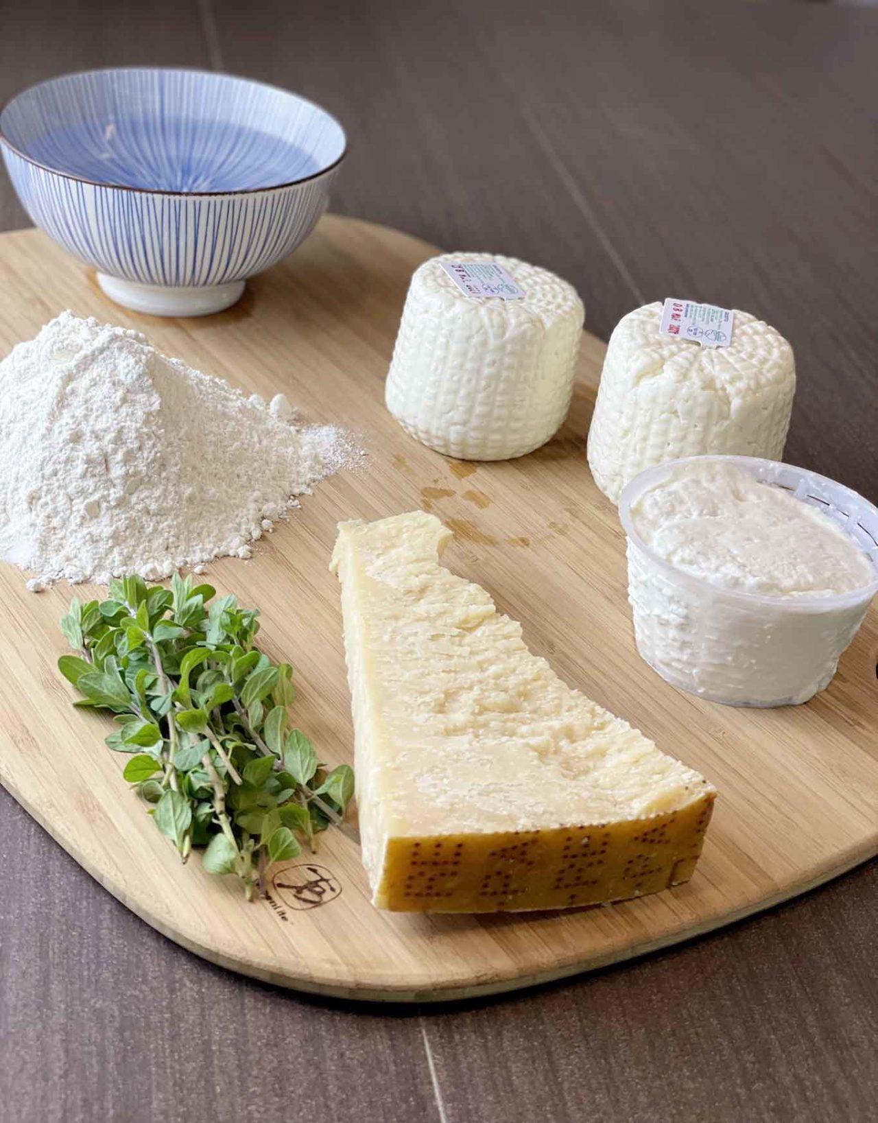 ravioli capresi ingredienti