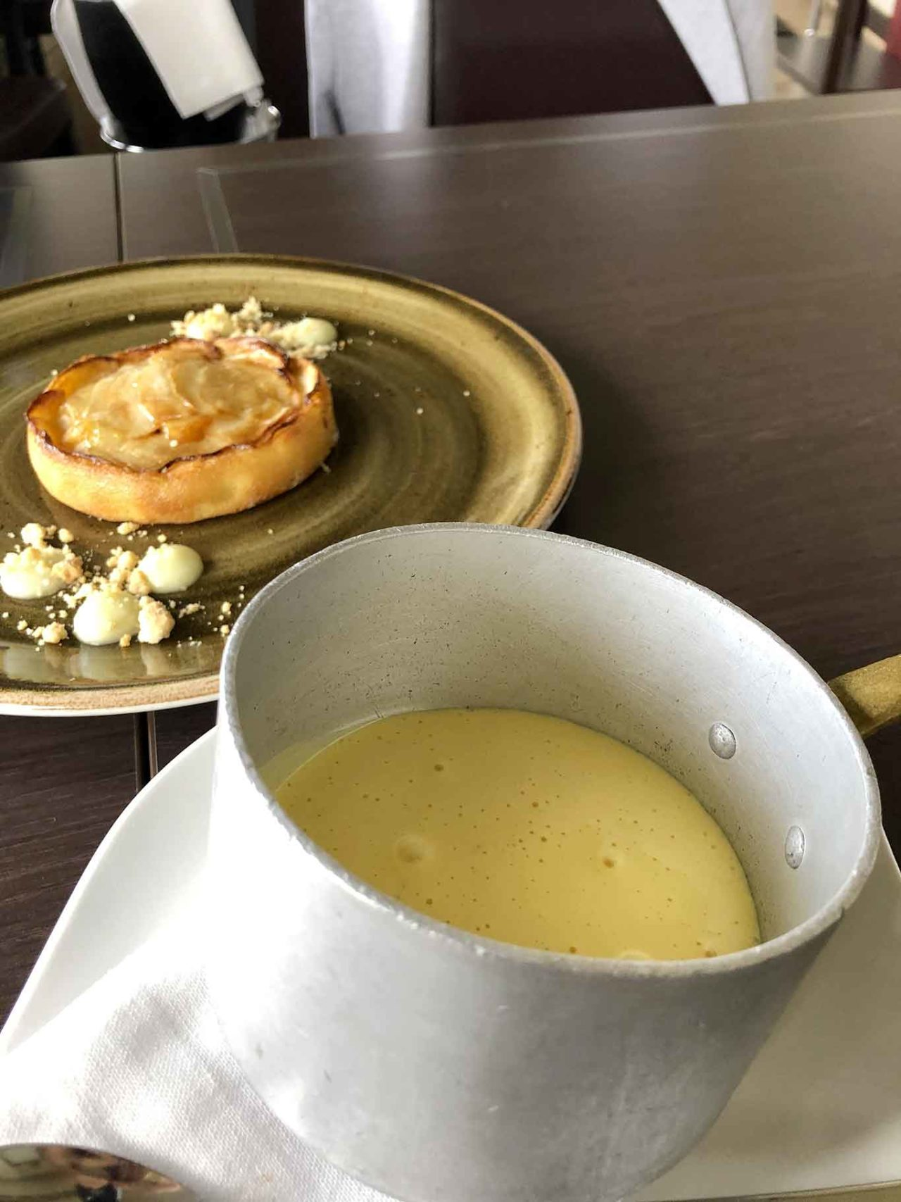 torta di mele ristorante Il Fungo Eur Roma