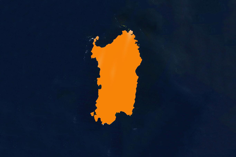sardegna zona arancione