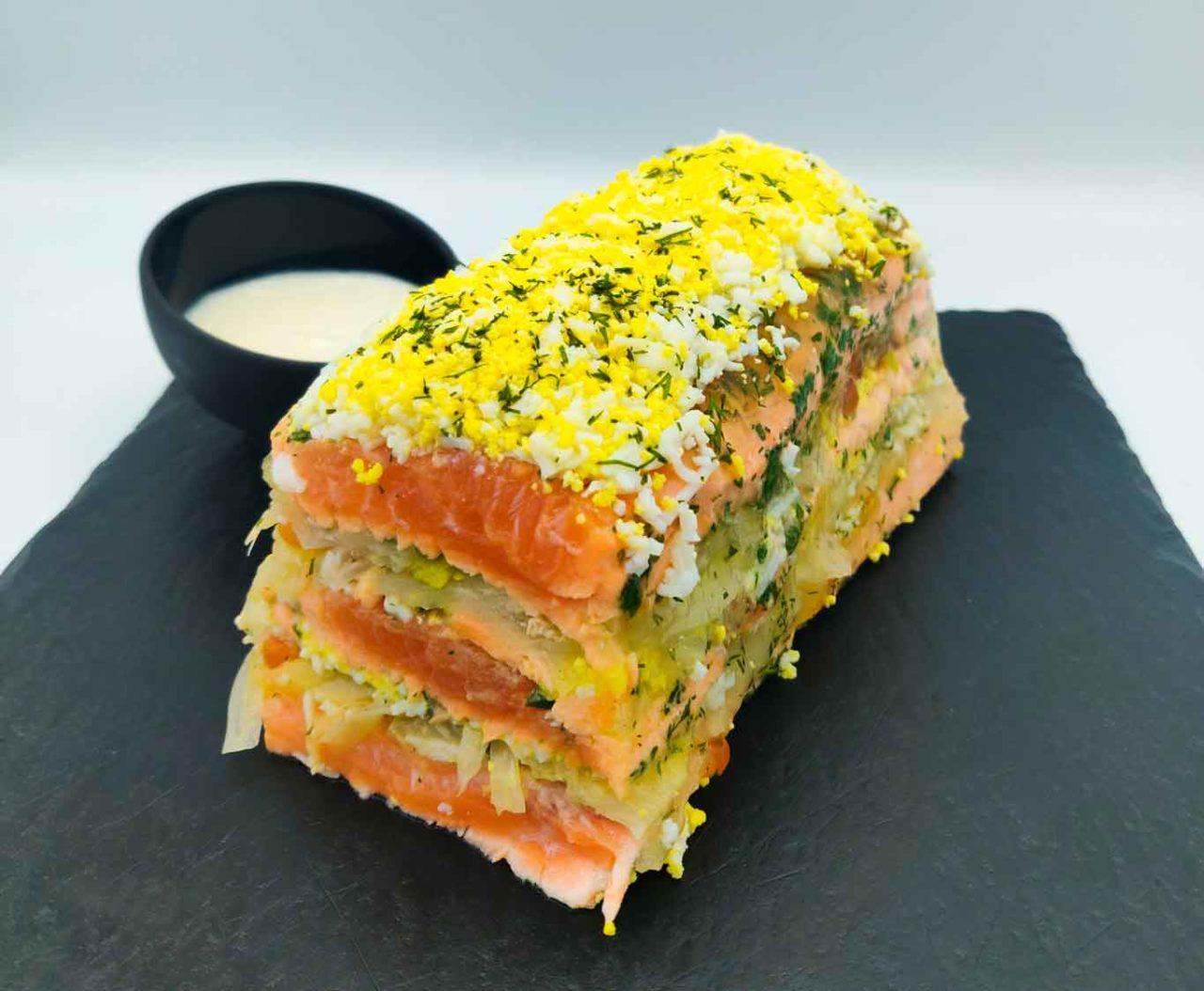 terrina salmone claudio sadler