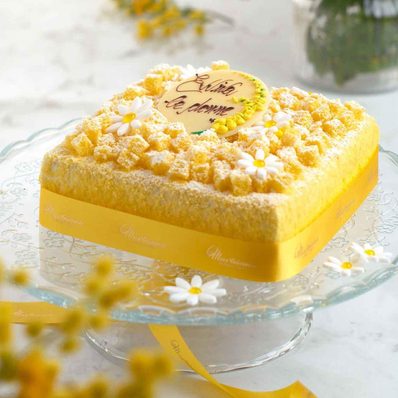 torta mimosa festa donna martesana