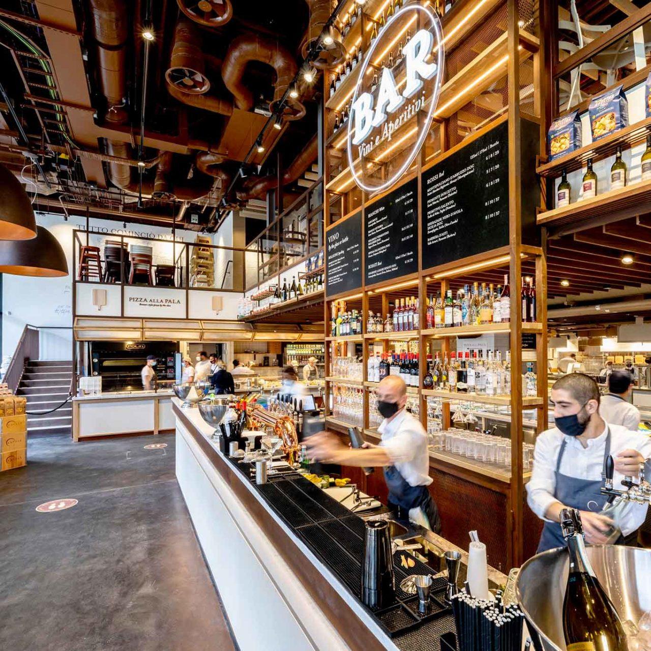 Eataly Londra bar e pizza