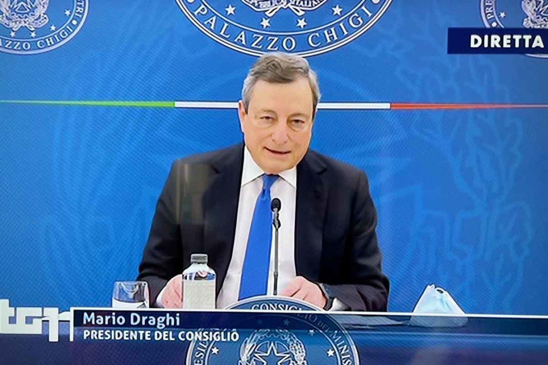 Mario Draghi rischio ragionato