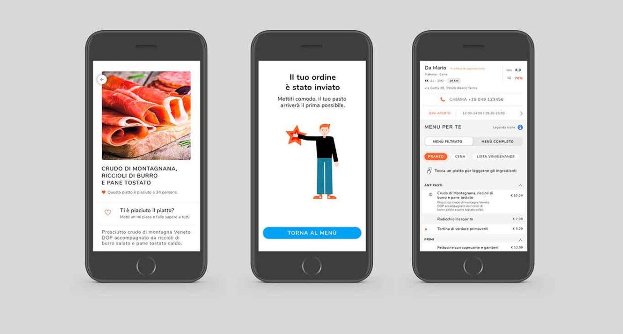 MyCIA menu digitali