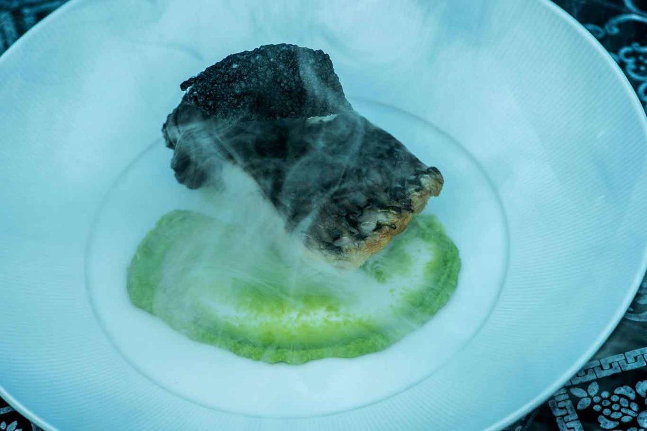 andrea berton ristorante h2o maldive pesce