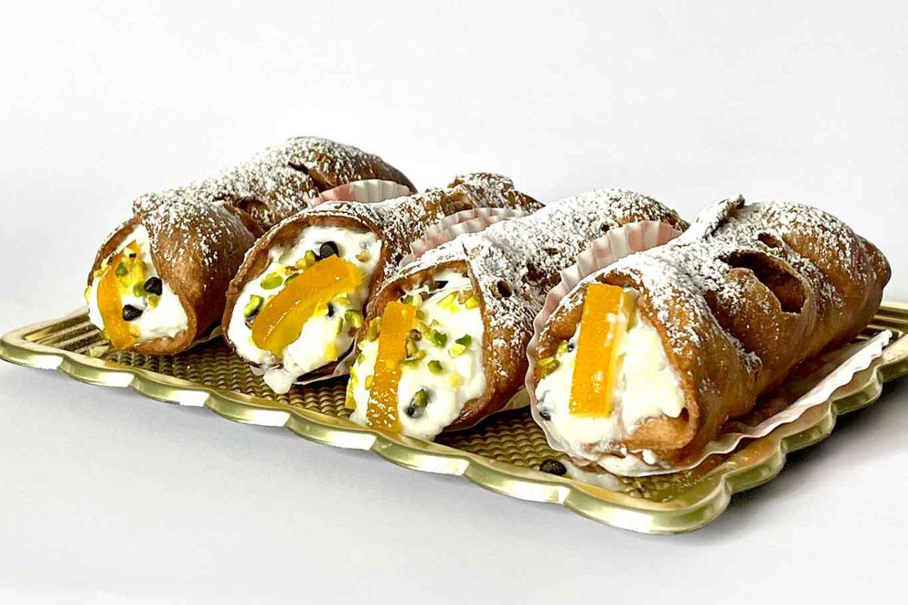 cannoli siciliani senza glutine Namelaka Palermo