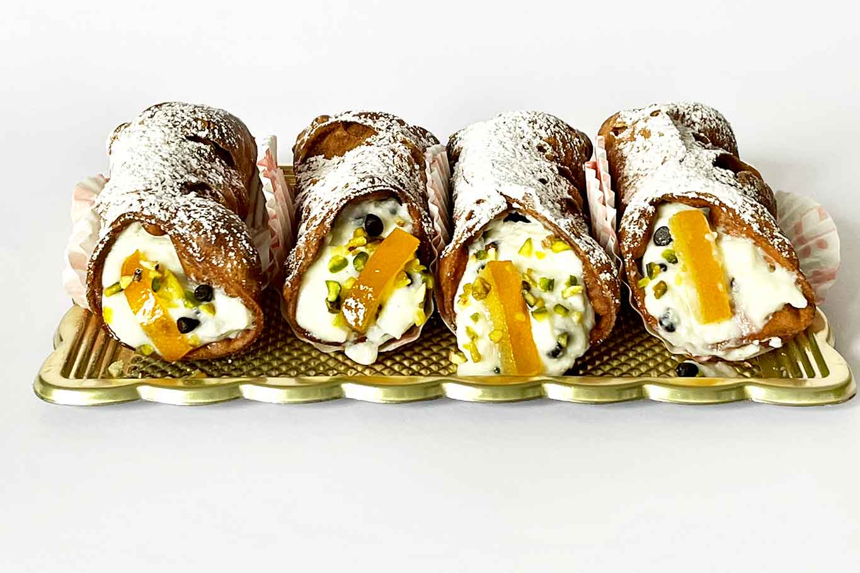cannoli siciliani senza glutine di Manelaka Palermo