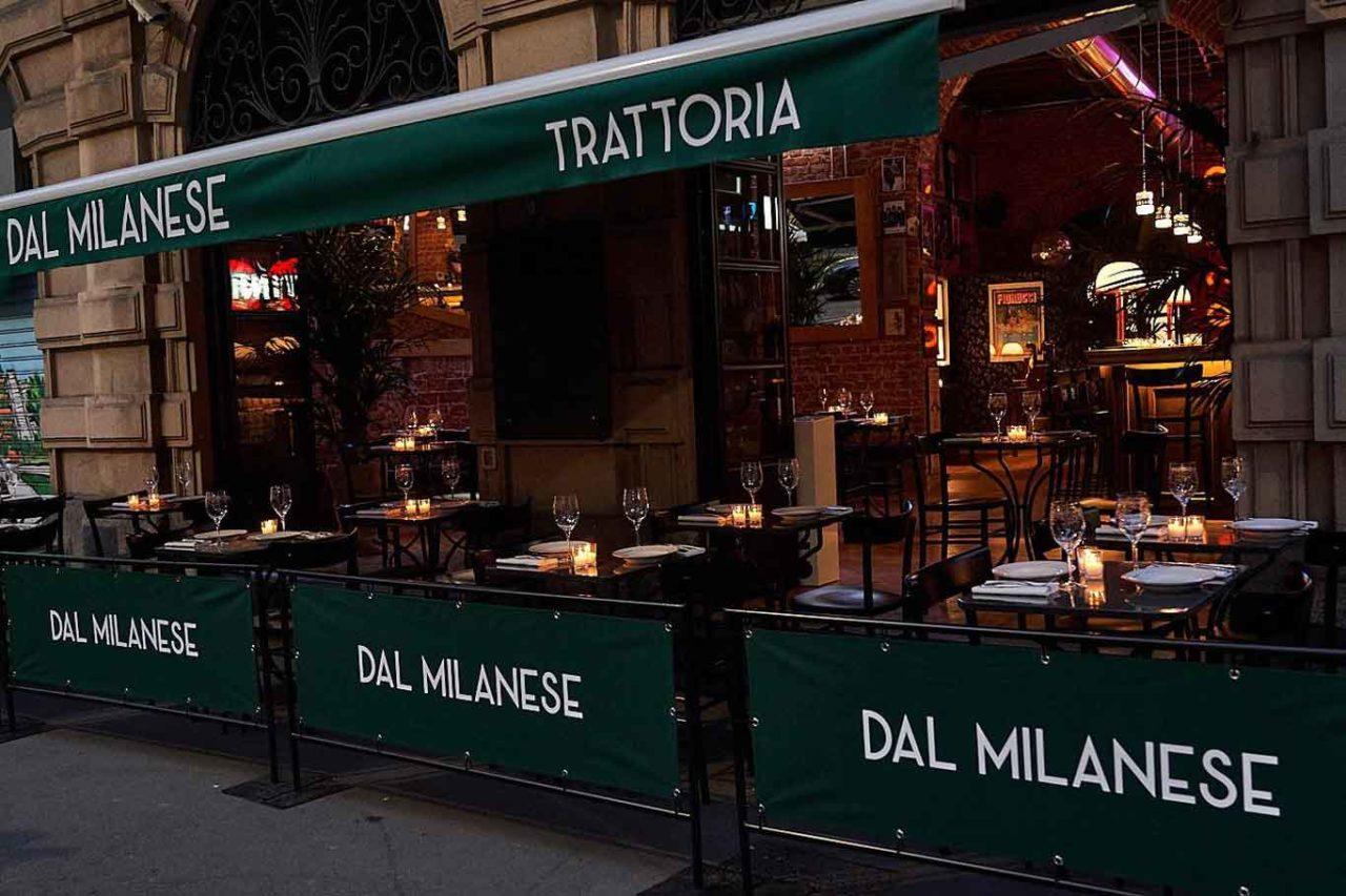 dal milanese guelfi dehors ristoranti all'aperto