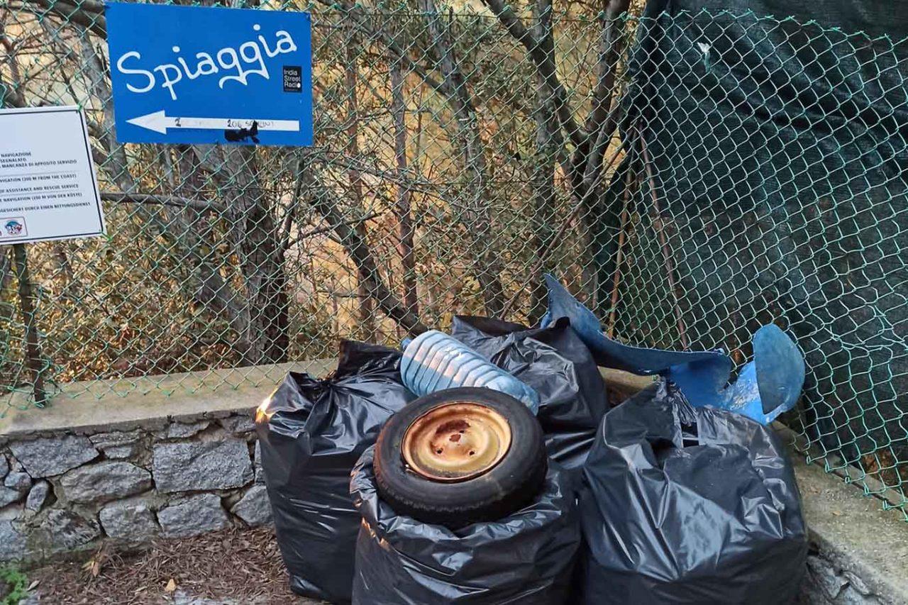 food for trash