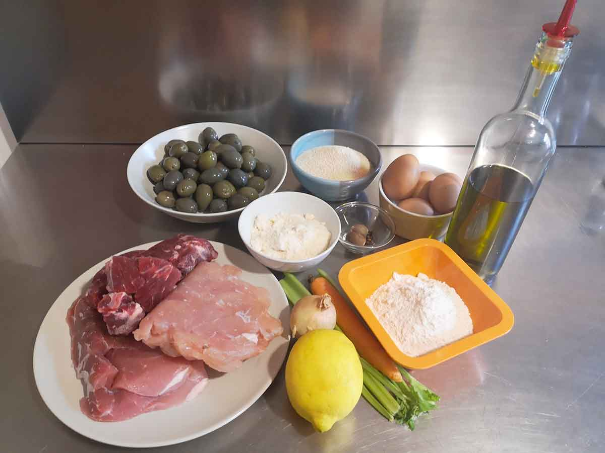 olive all'ascolana ingredienti
