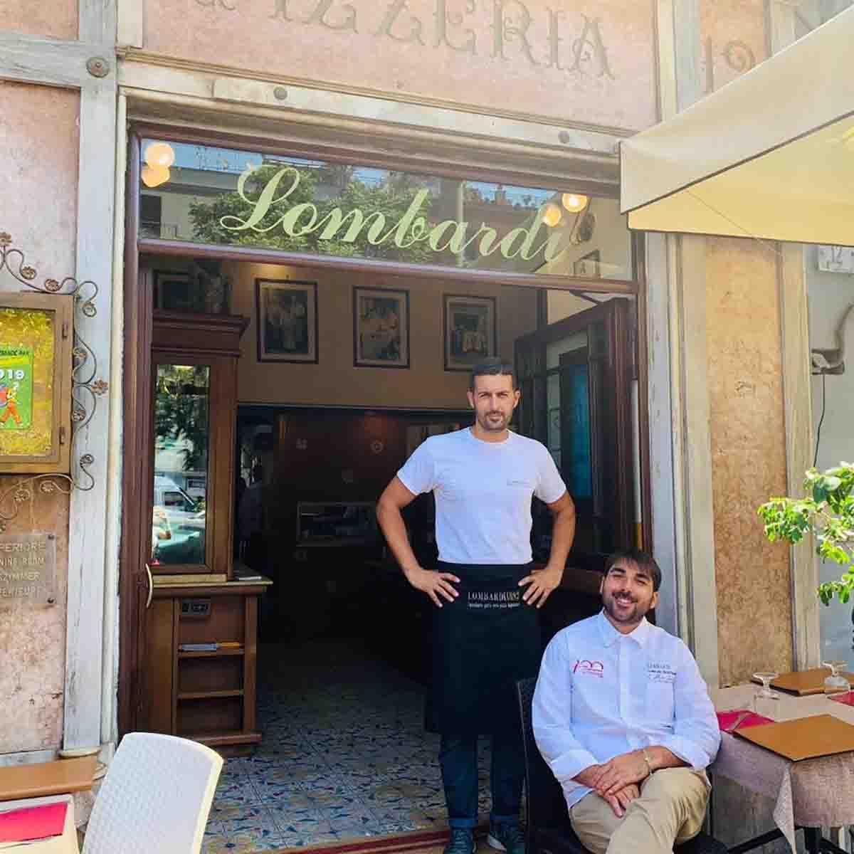 pizzerie all'aperto a Napoli: Lombardi