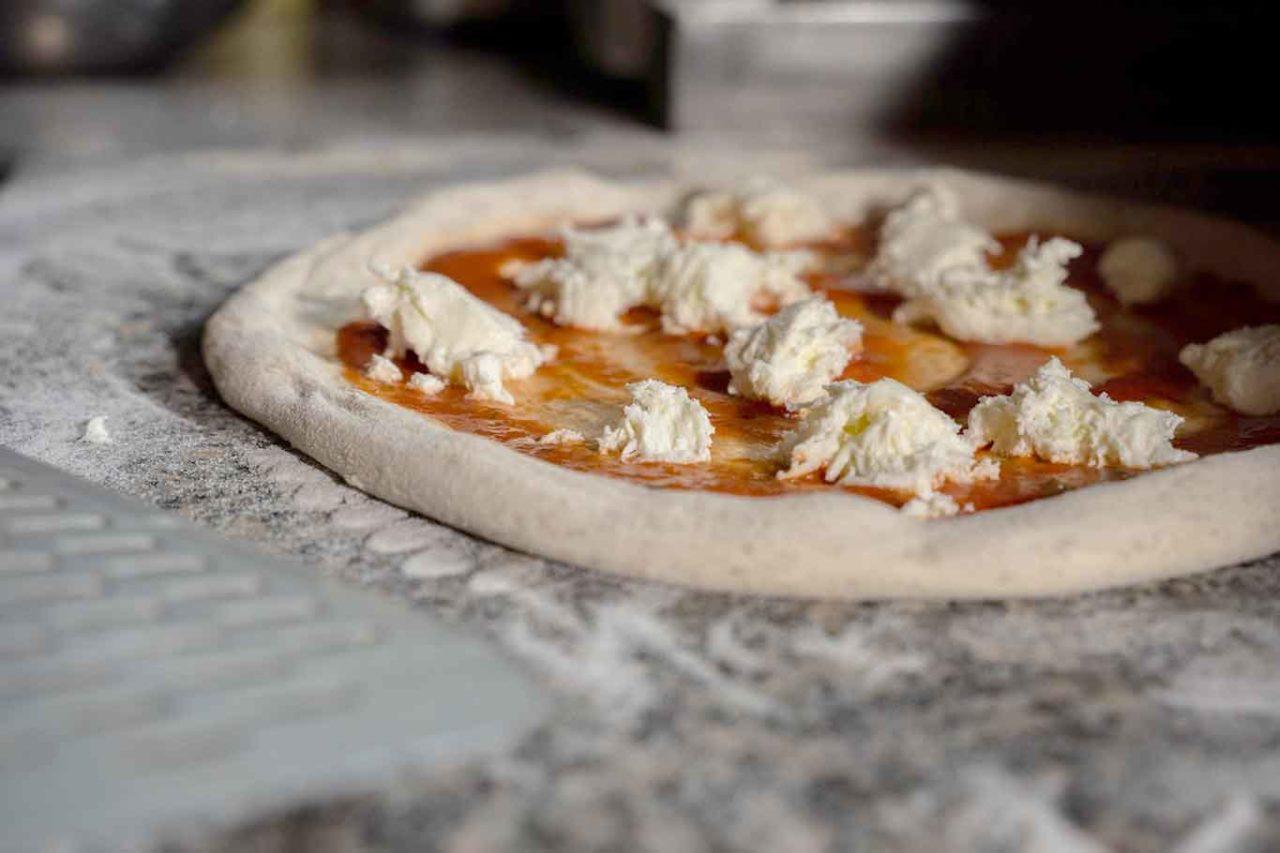 pizza stesura