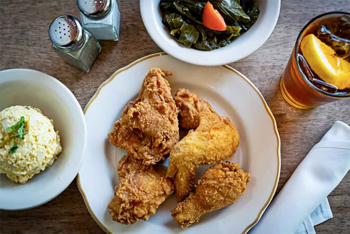 Bib Gourmand a Washington pollo fritto