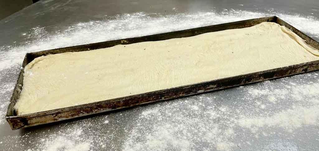 sfincione palermitano teglia