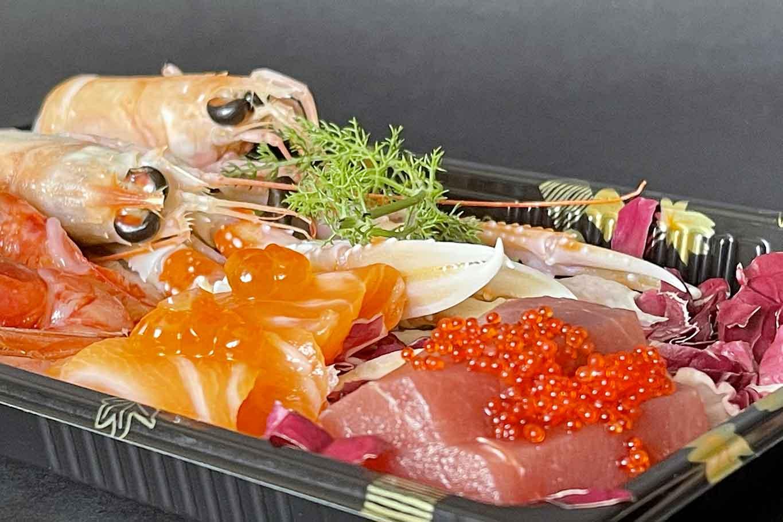 sushia Mondello Palermo Sicilia sashimi
