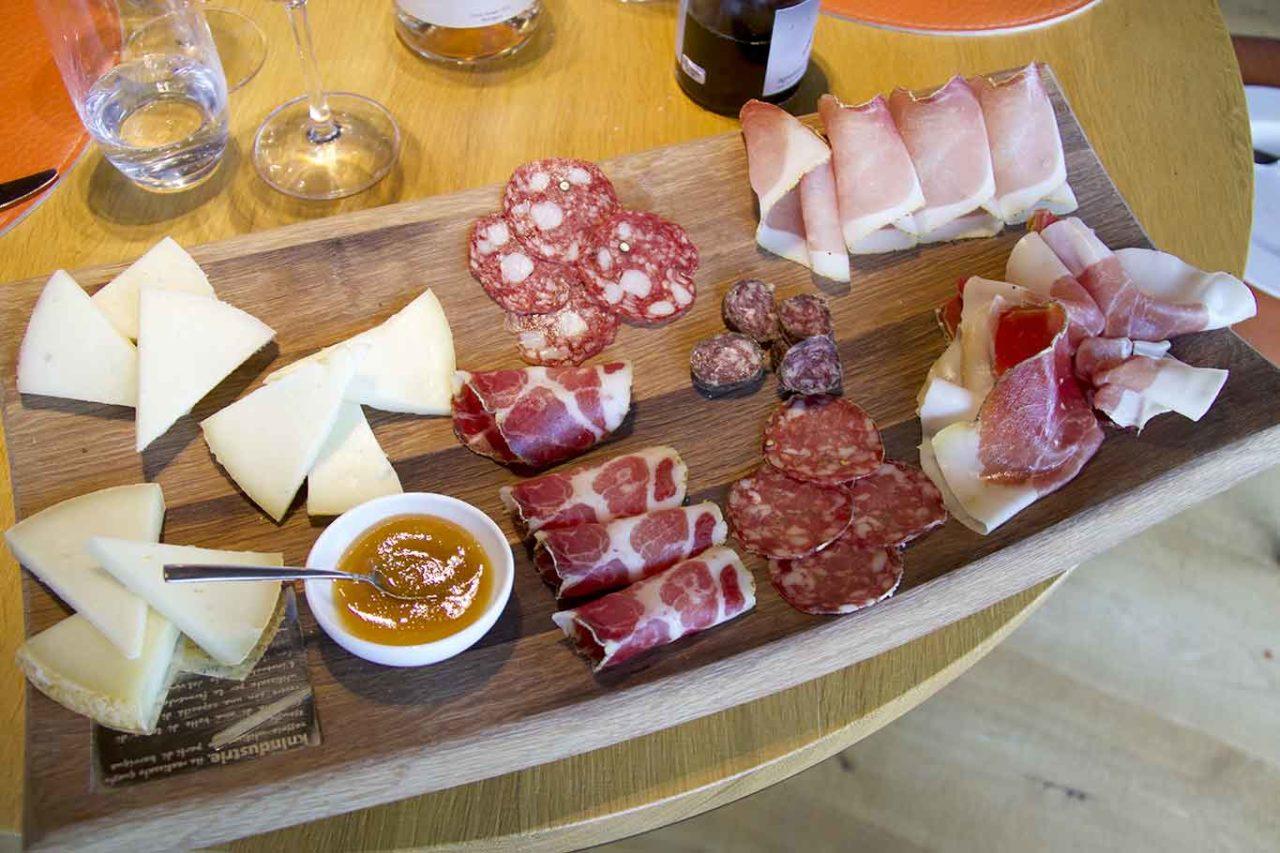 formaggi e salumi Val D'Orcia