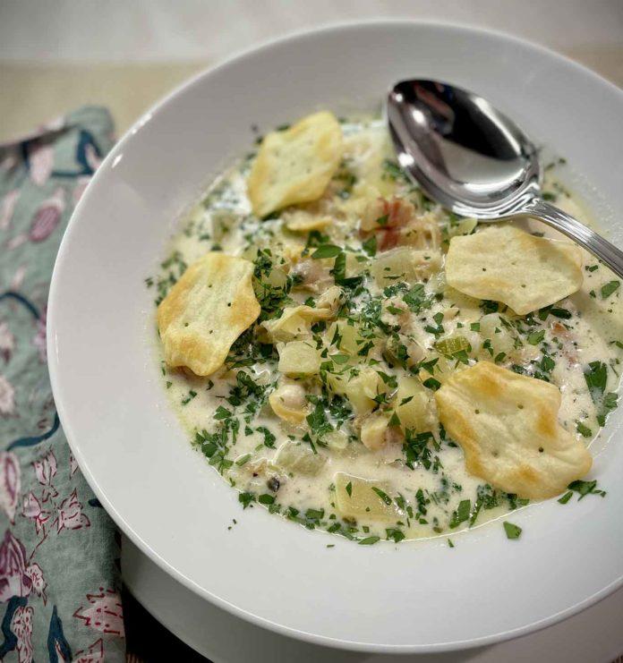 zuppa di vongole Clam Chowder