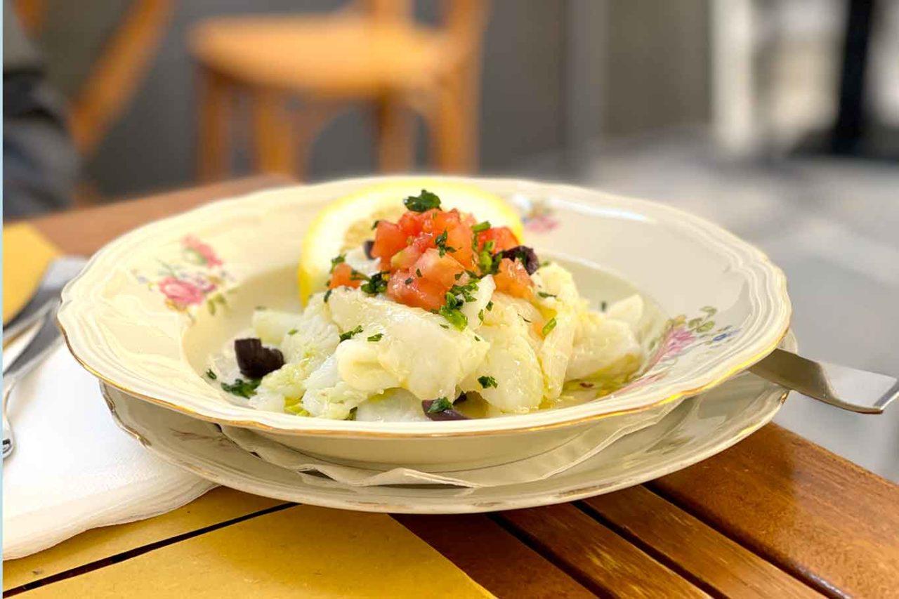 Baccalaria osteria Napoli insalata di baccalà