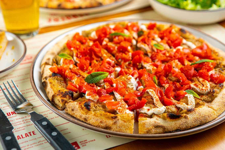 nuove pizzerie a Milano: Berberè nuova pizza babaganoush