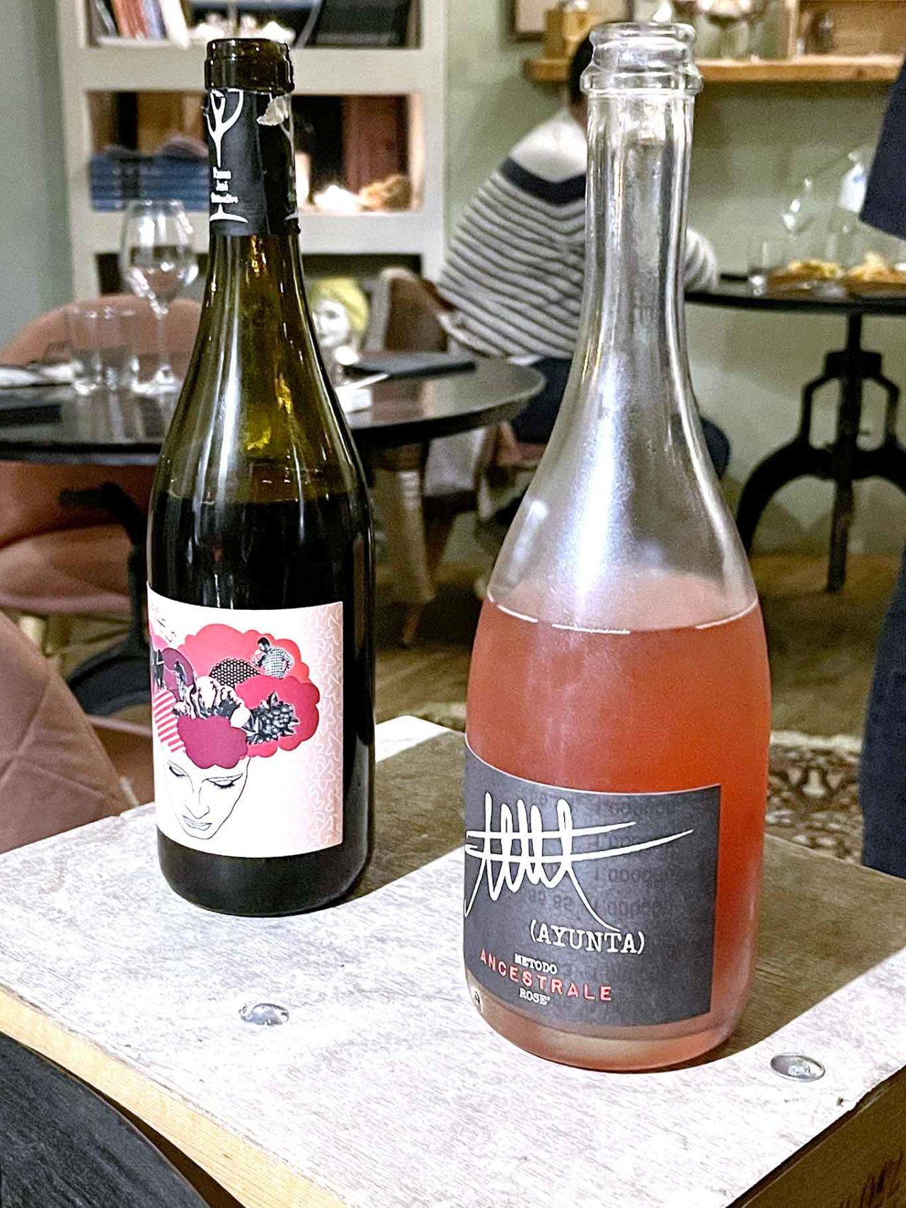 vino spagnolo e vino siciliano