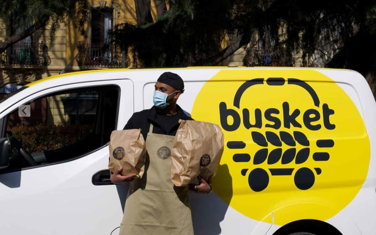 Busket consegne delivery pane