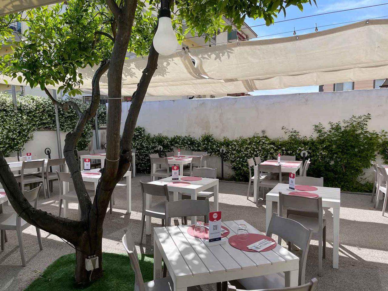 Casa Caponi pizzeria ristorante Torre Annunziata giardino