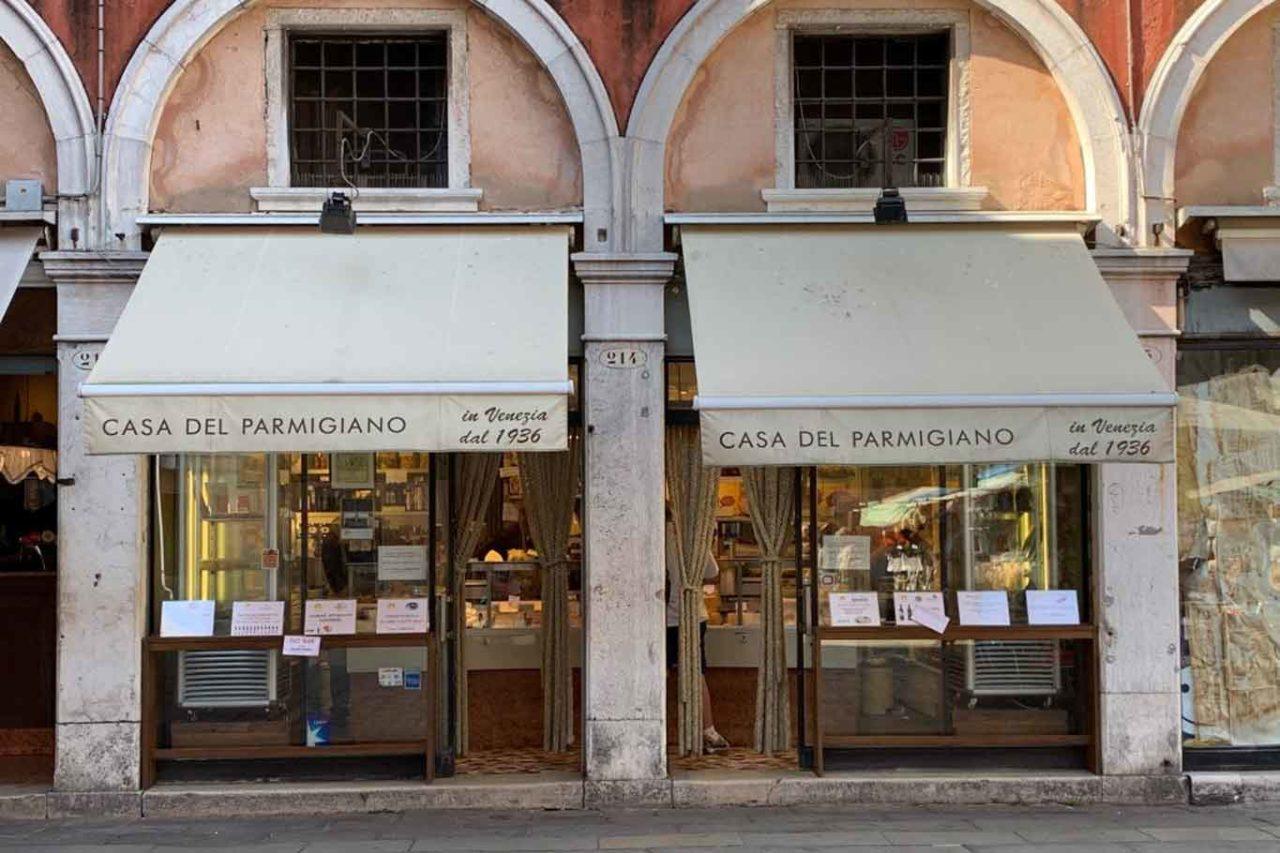 Casa Parmigiano venezia migliori gastronomie