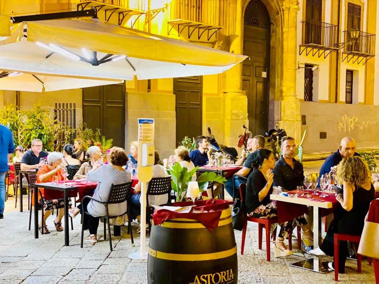Ristoranti all'aperto a Palermo: I Cucci