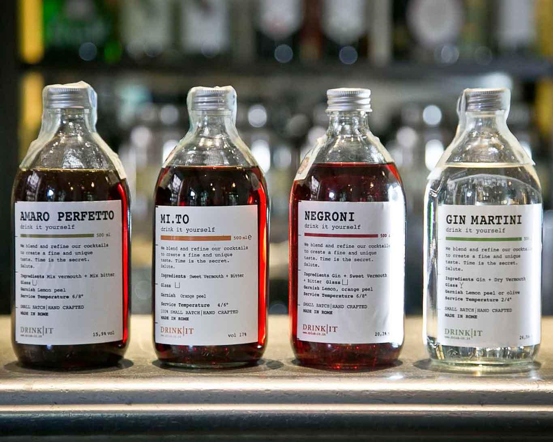 Cocktail pronti in bottiglia