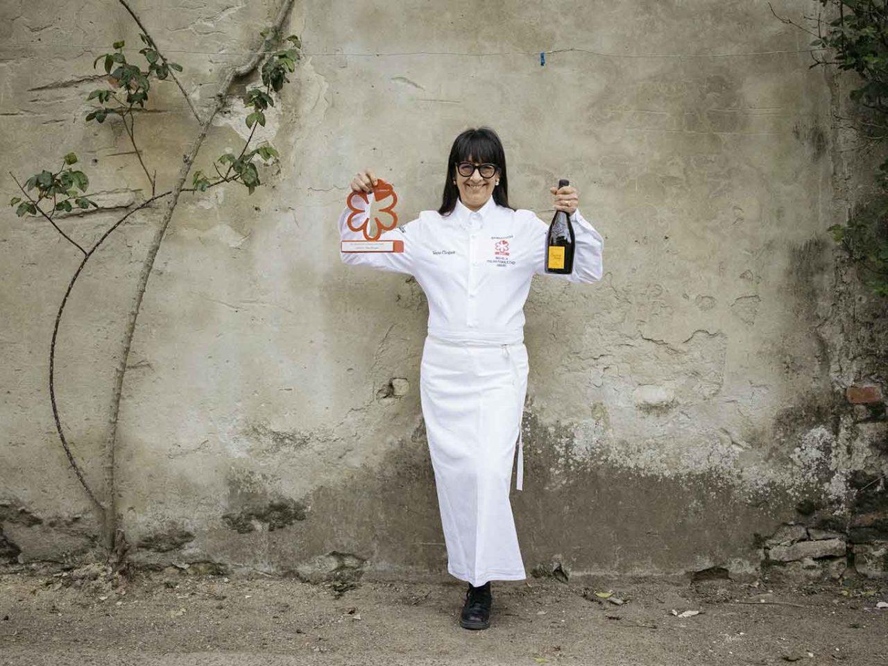Isa Mazzocchi e il premio Veuve Clicquot