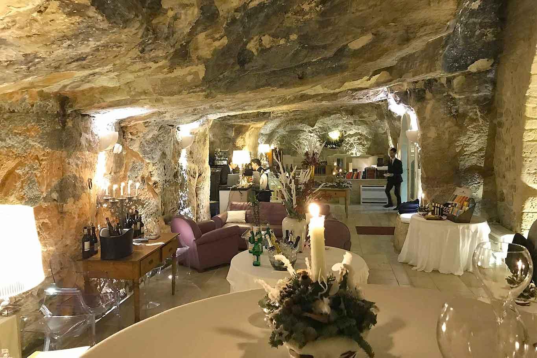 Locanda Don Serafino ristorante stella Michelin Sicilia Ragusa Ibla sala
