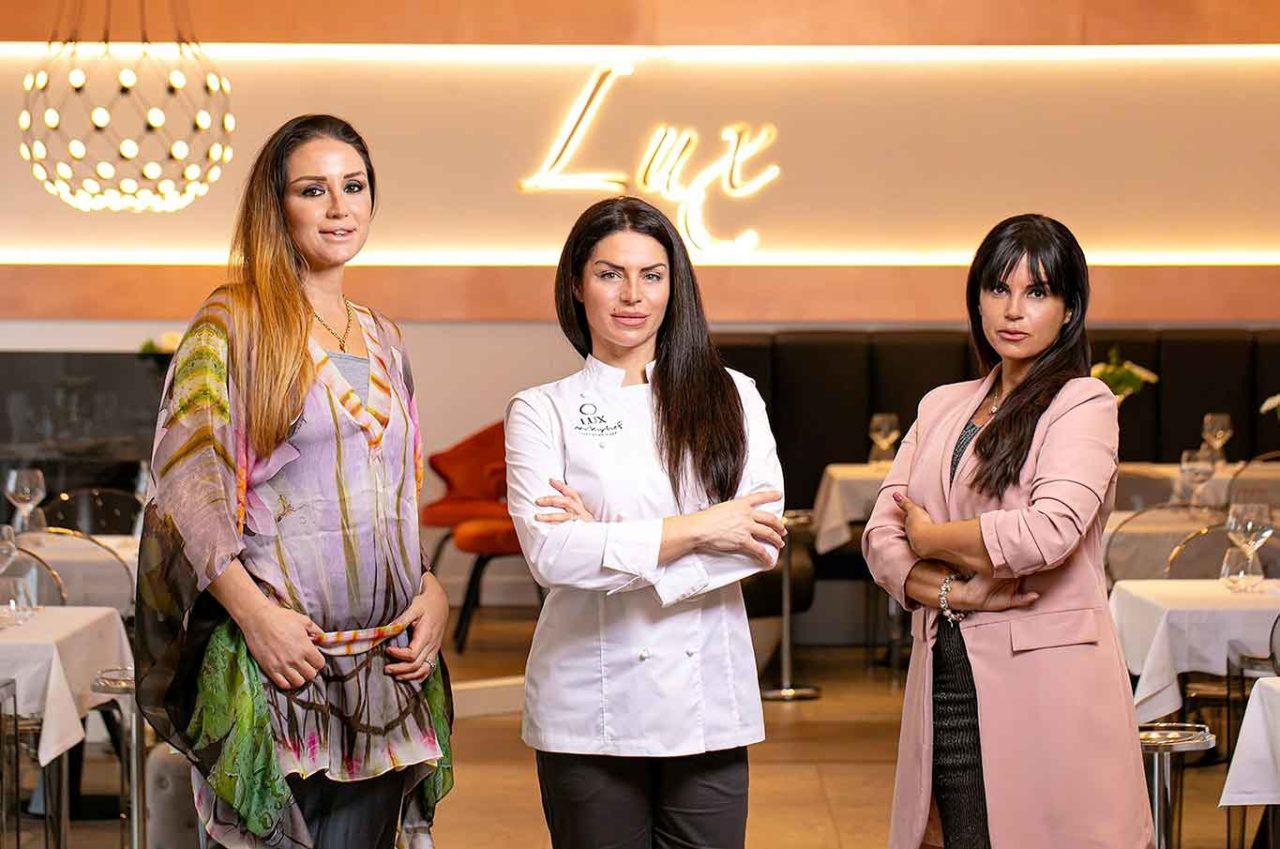 Lux ristorante Ostia Roma staff