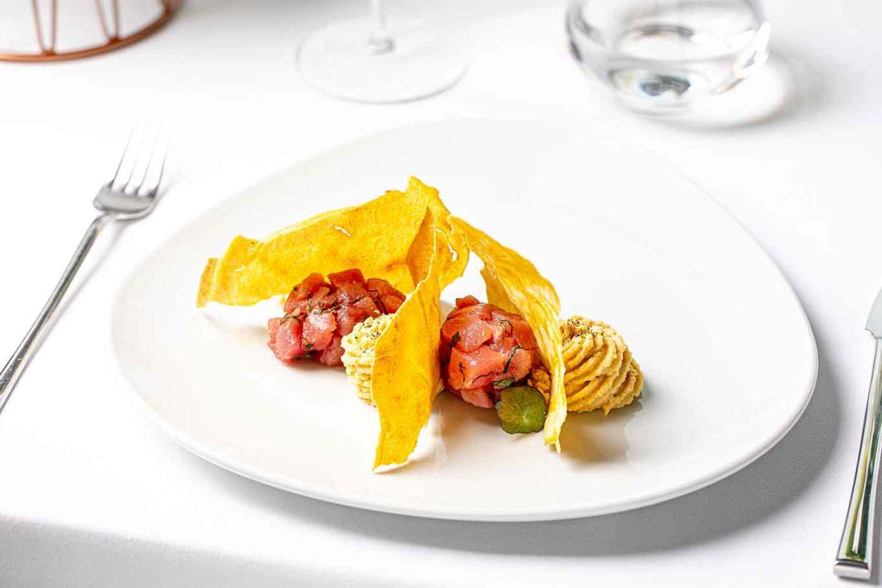 Lux ristorante Ostia Roma tartare di tonno