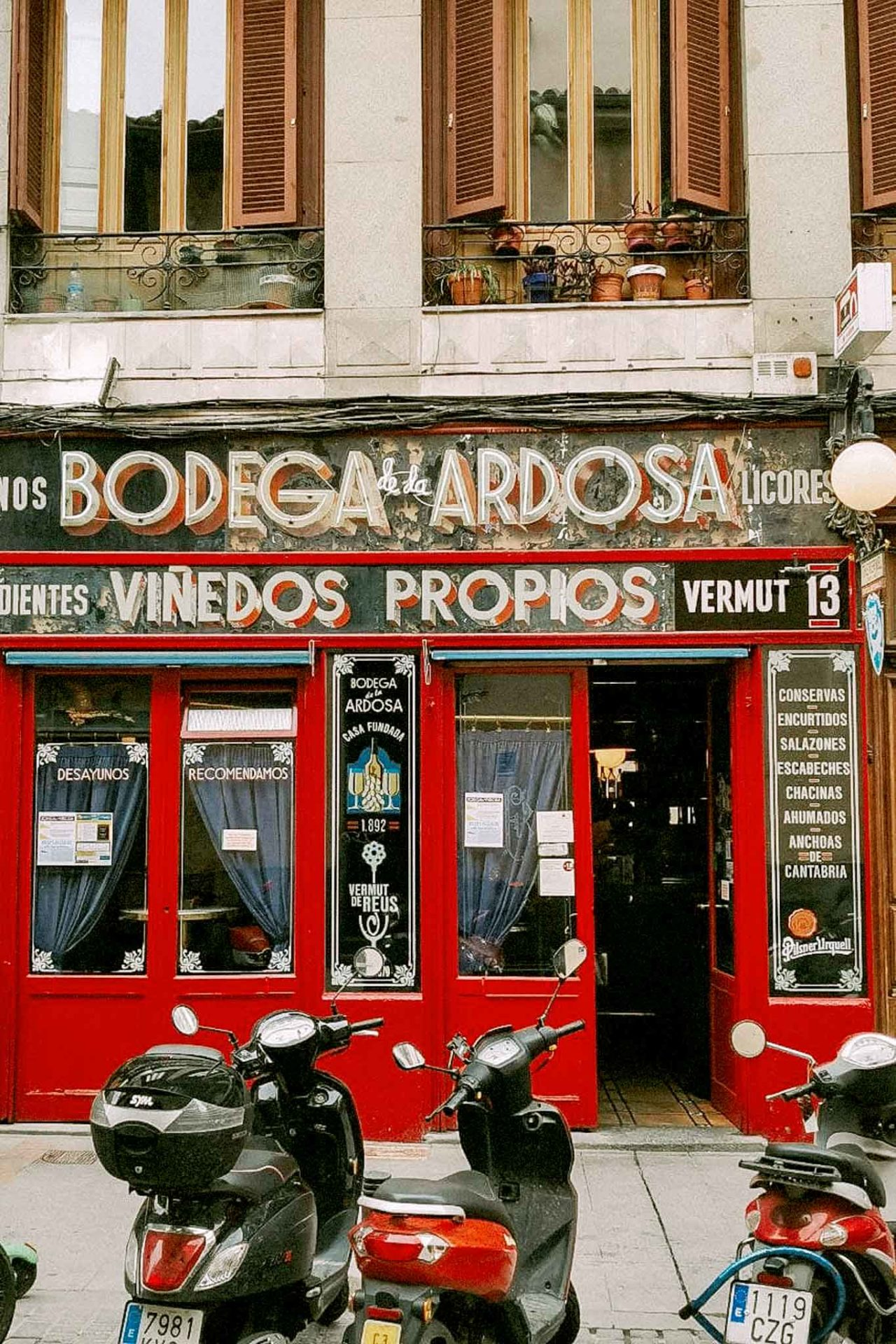 Madrid Bodega de la Ardosa