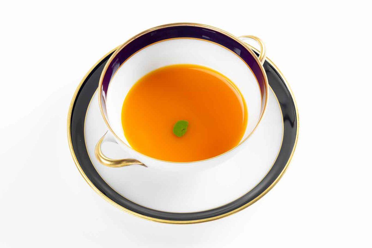 Nuovo menu degustazione ristorante Reale: carota