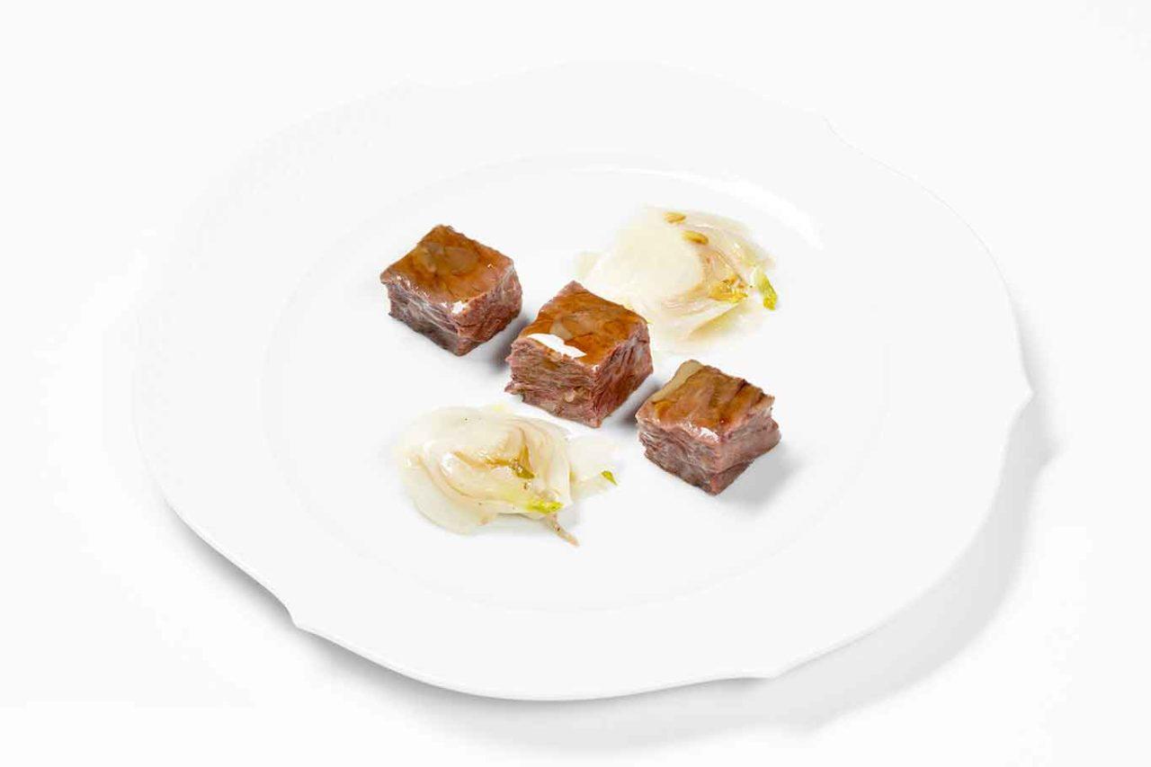 Nuovo menu degustazione ristorante Reale: manzo