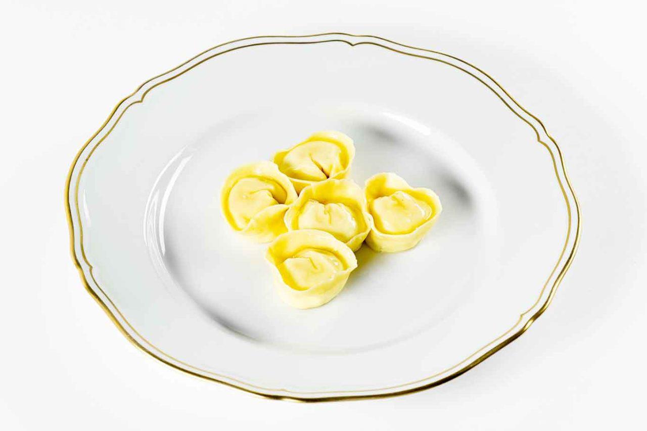 Nuovo menu degustazione ristorante Reale: ravioli