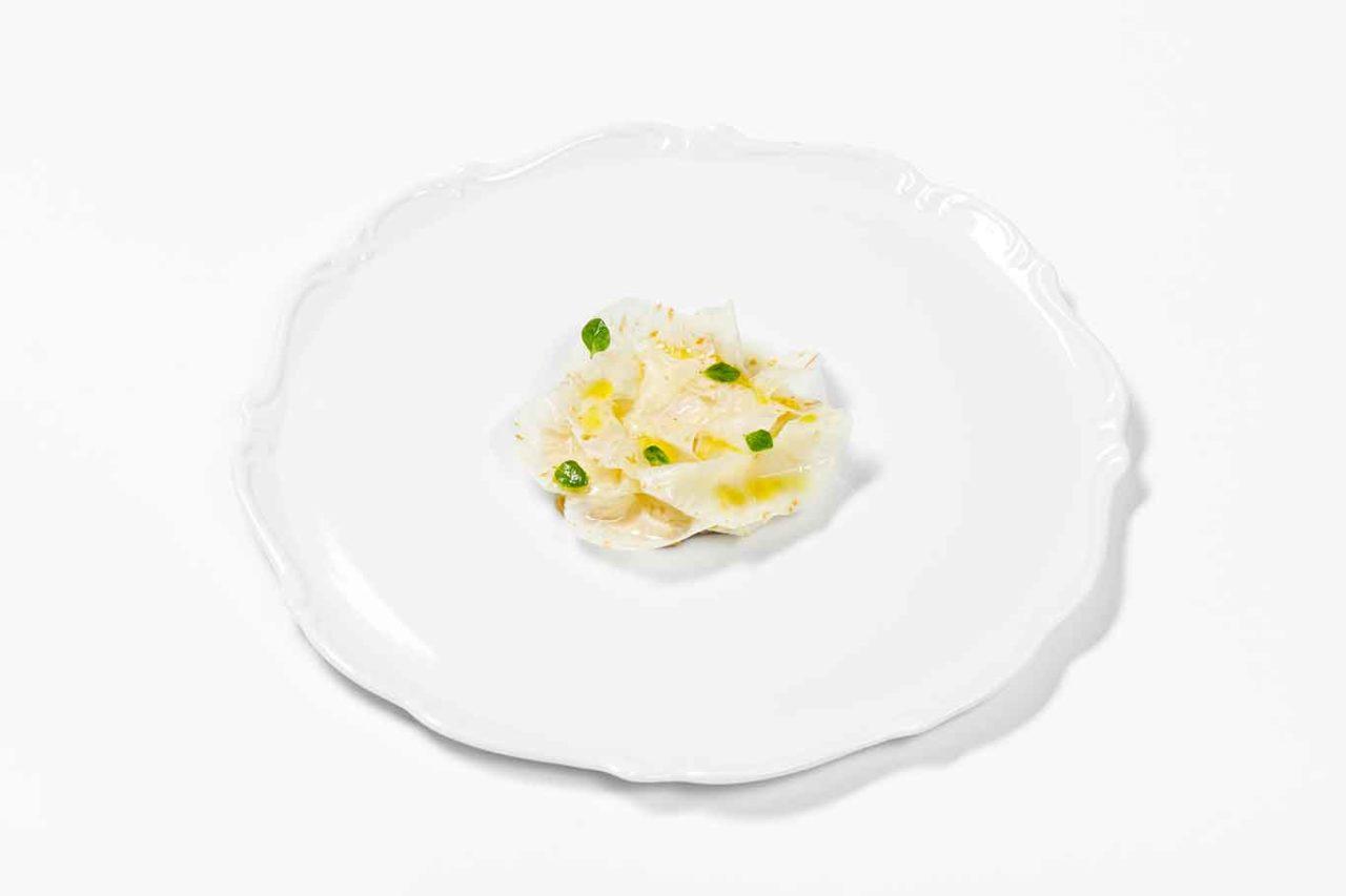 Nuovo menu degustazione ristorante Reale: sedano rapa