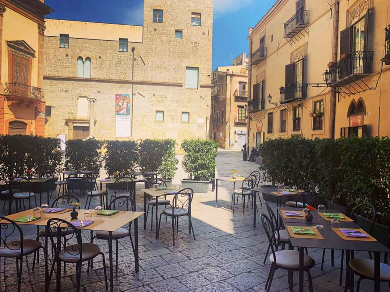 Ristoranti all'aperto a Palermo: Osteria dei Vespri