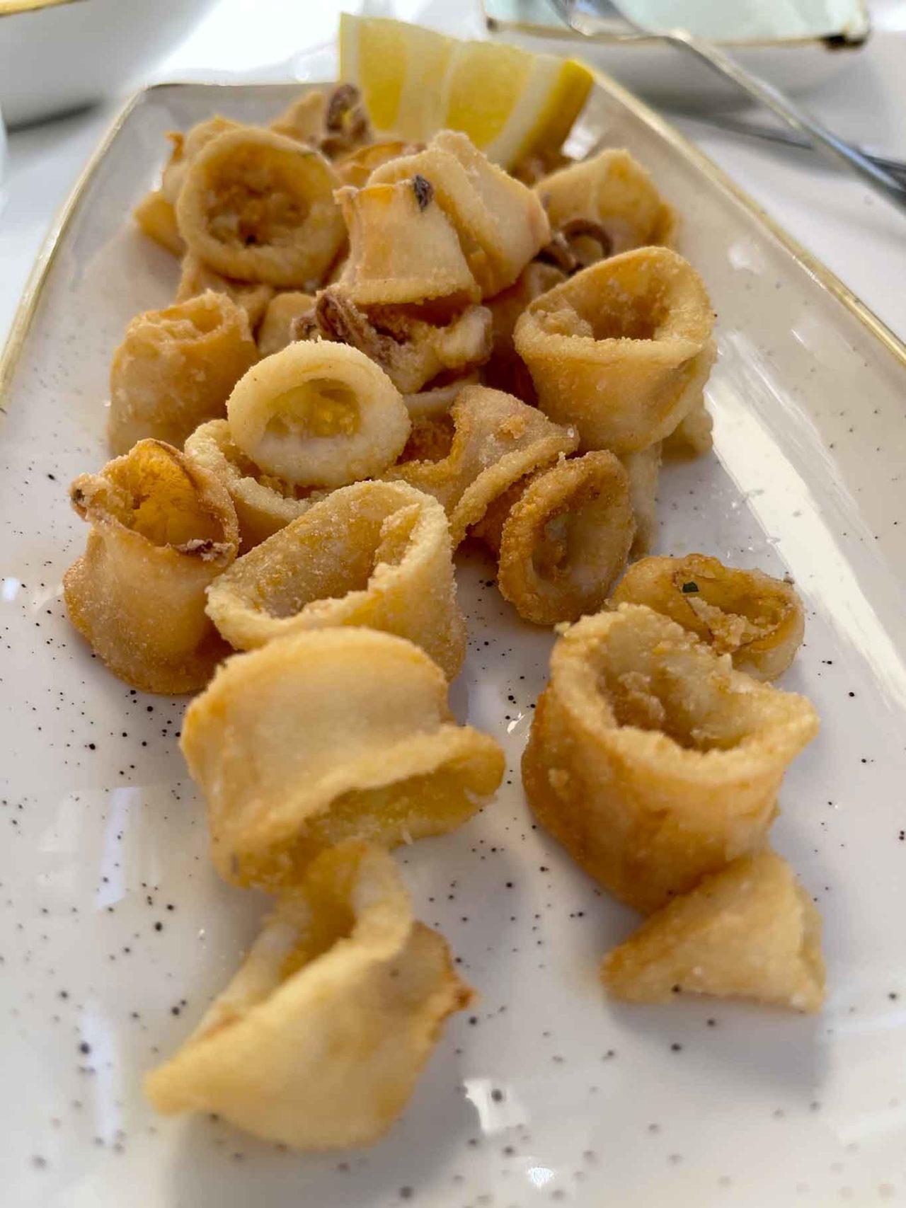 Osteria di Pescheria Salerno calamari fritti