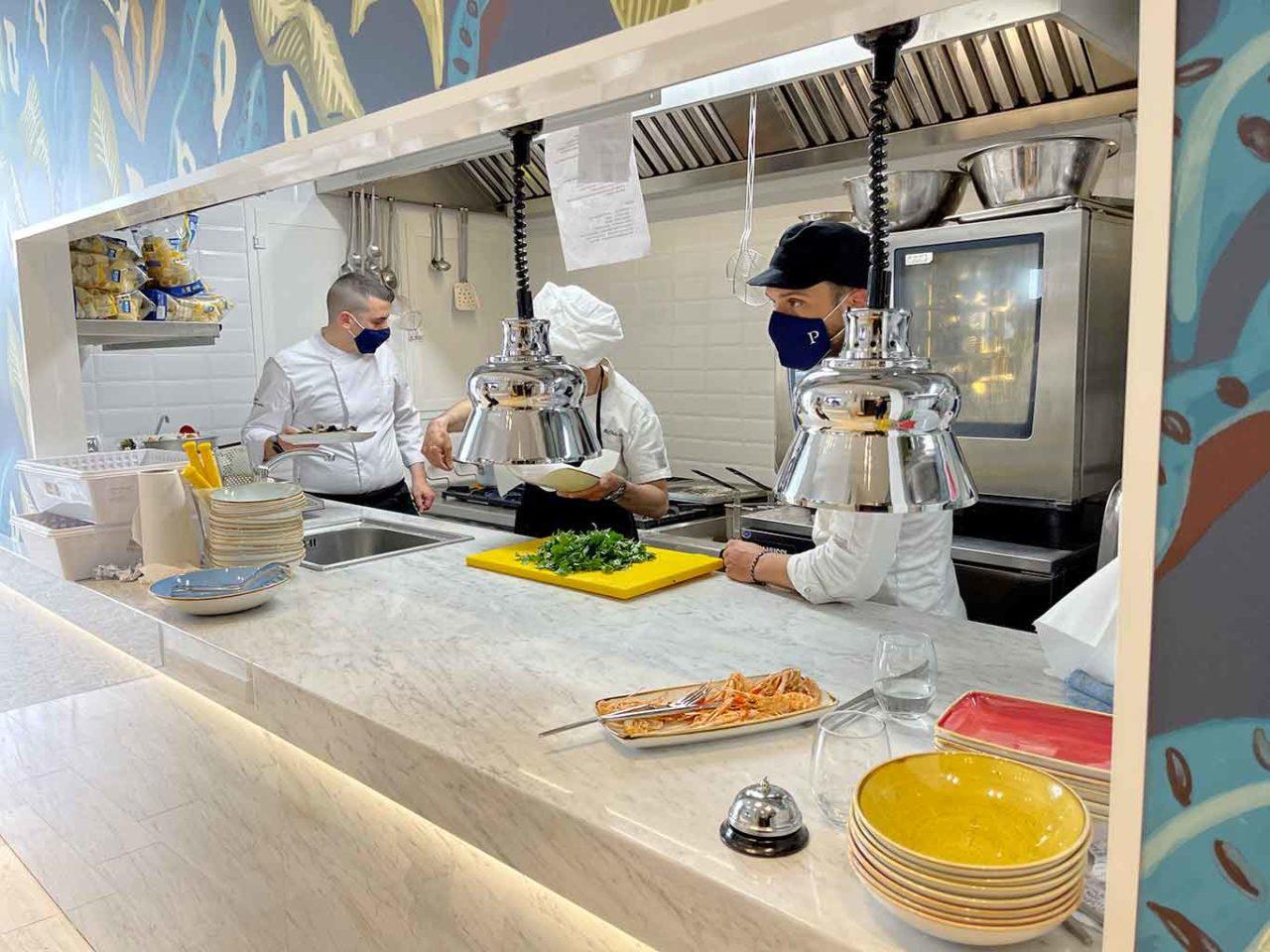 Osteria di Pescheria Salerno cucina