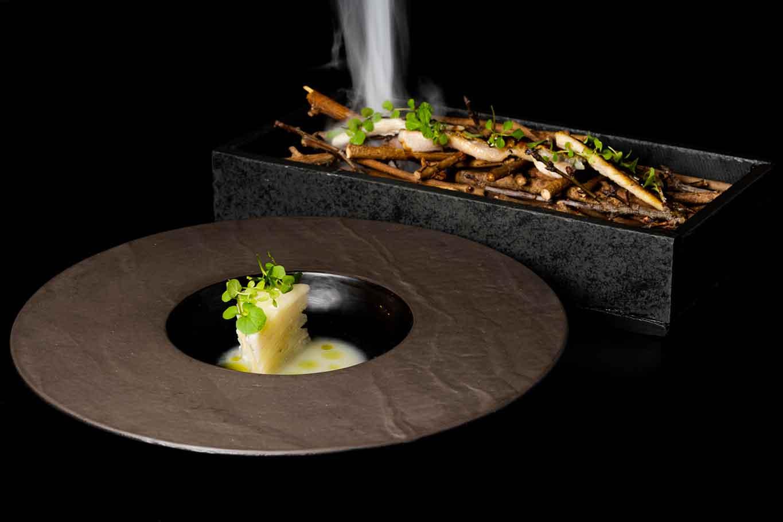 Satricvm ristorante Latina anguilla affumicata piatto