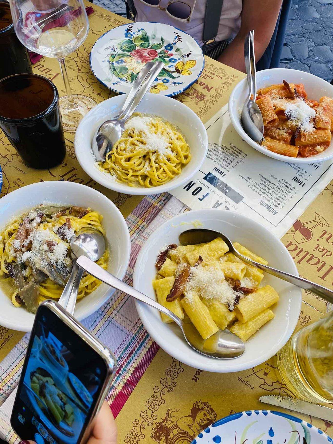 Senza fondo roma primi piatti