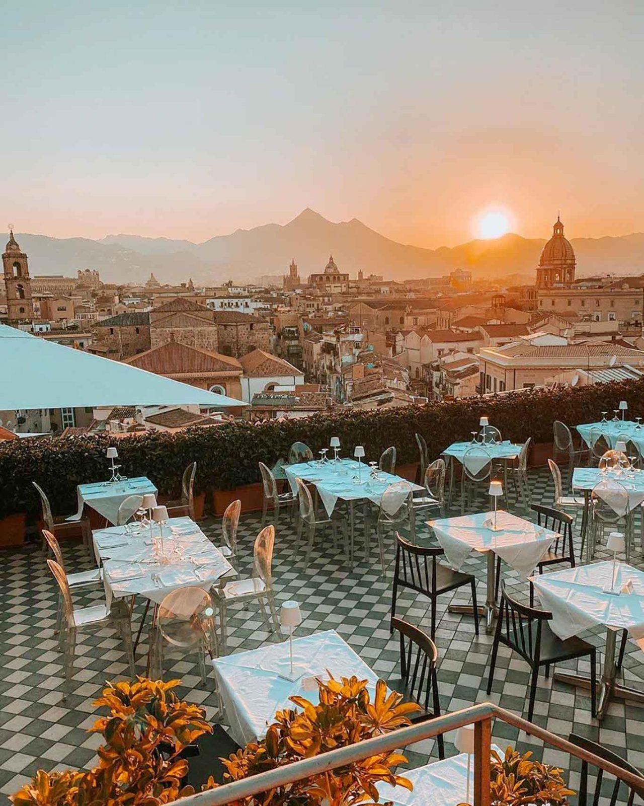 ristoranti all'aperto a Palermo Seven