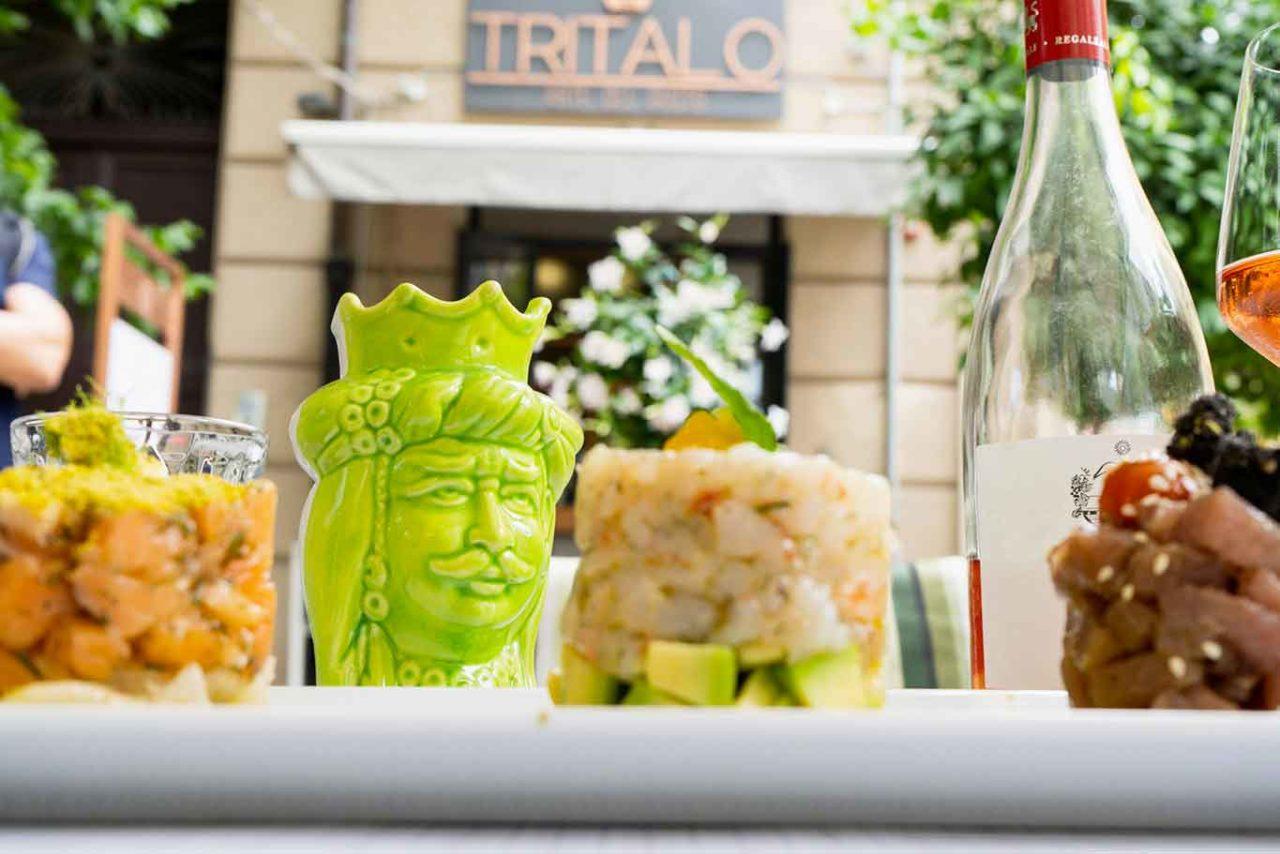 ristoranti all'aperto a Palermo: Tritalo