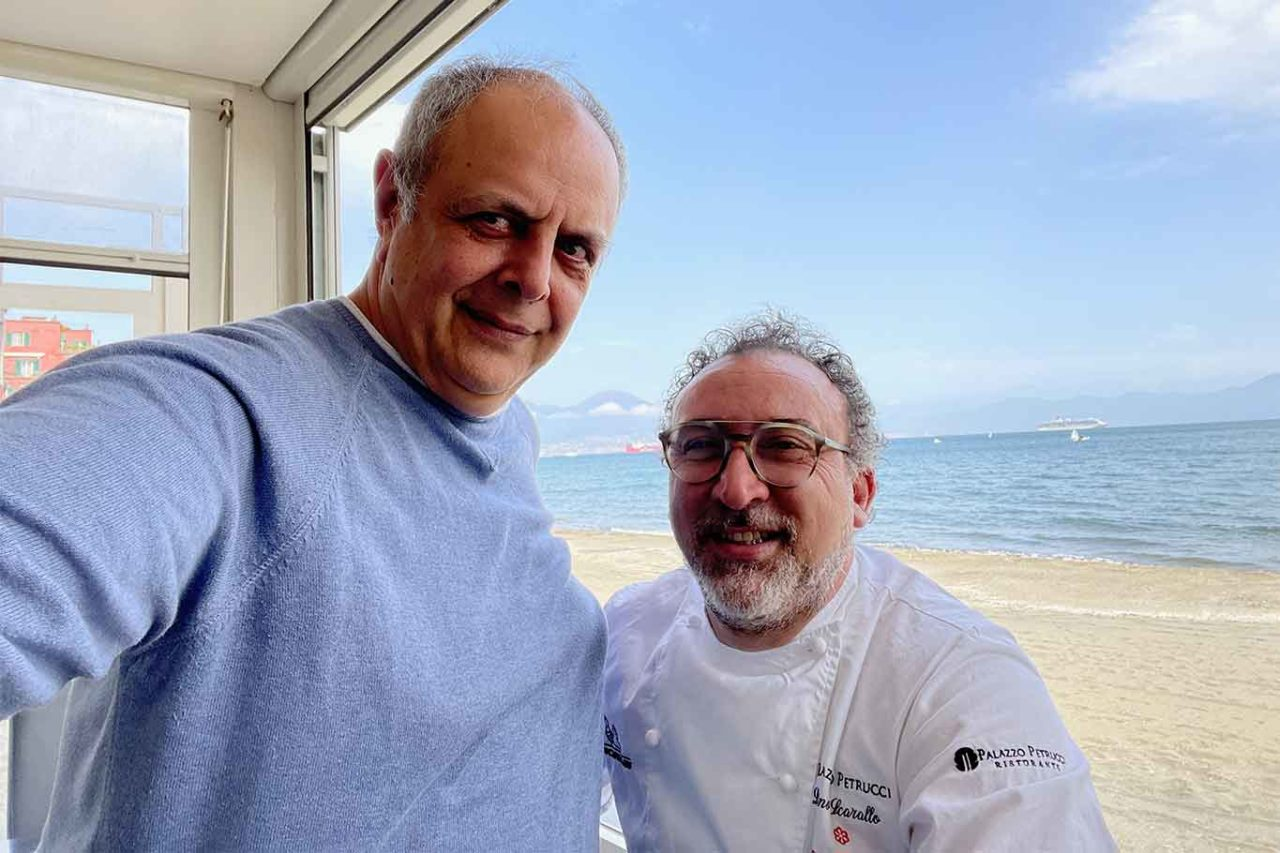 Vincenzo Pagano e Lino Scarallo