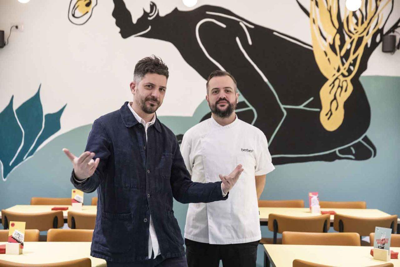 nuove pizzerie a milano: berberè dei fratelli salvatore e matteo aloe