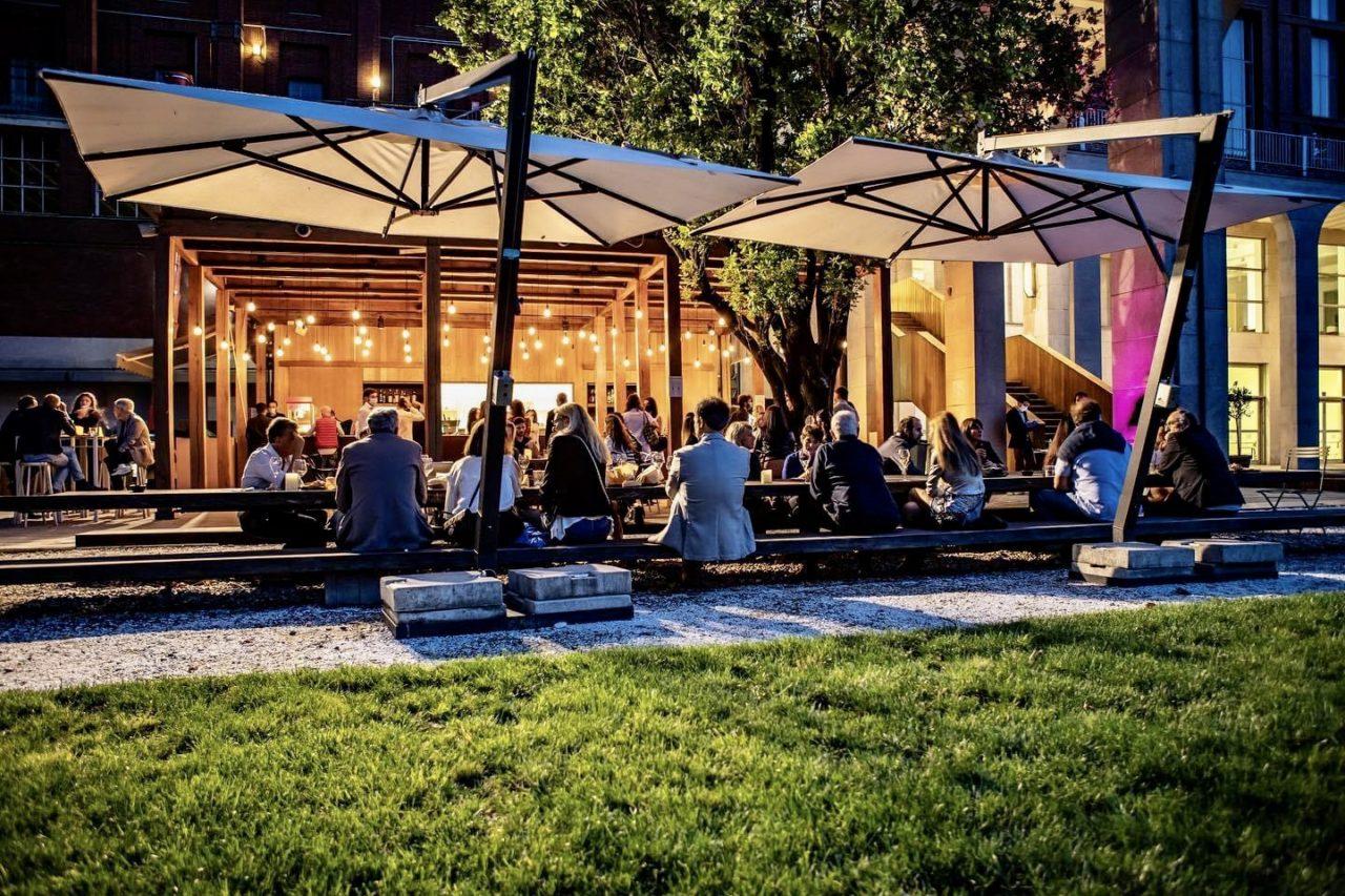 Caffè in giardino Milano aperitivo all'aperto