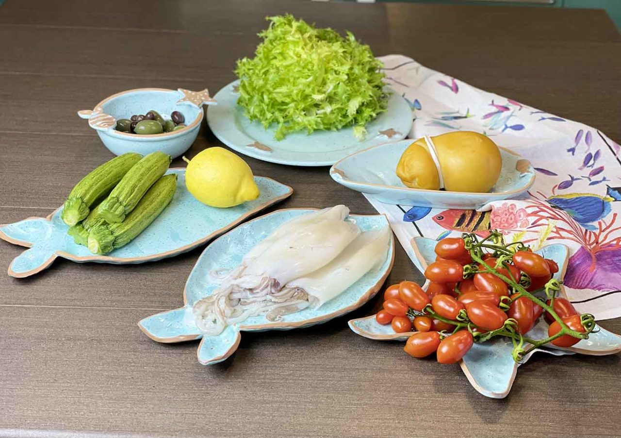 calamari ripieni ingredienti